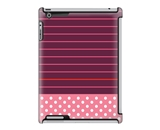 Uncommon LLC Stripe Dot Pink Deflector Hard Case for iPad 2/...