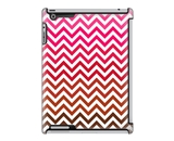 Uncommon LLC Deflector Hard Case for iPad 2/3/4, Red Chevron...