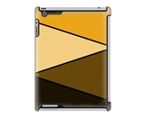 Uncommon LLC Deflector Hard Case for iPad 2/3/4 - Orange Zag...