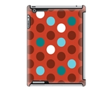 Uncommon LLC Bubble Dots Red Deflector Hard Case for iPad 2/...