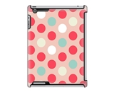 Uncommon LLC Bubble Dots Pastel Deflector Hard Case for iPad...